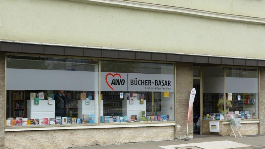 Der AWO Bücher-Basar hat sein festes Domizil in der Klosterstraße 19 in Forchheim gefunden.