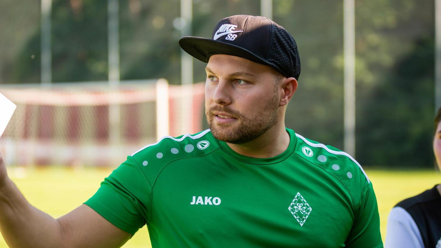 Der neue Trainer desFV Kleeblatt 99:Ludwig Waschkau.