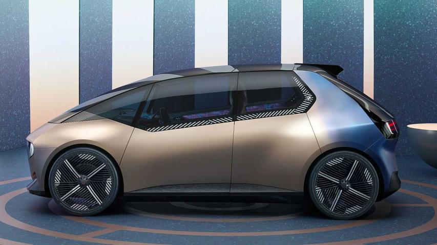 Der iVision Circular ist eine Minivan-Studie, die vollständig recycelbar sein soll.