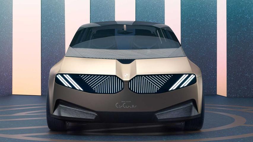 Noch Zukunftsmusik: Der BMW iVision Circular ist ein Ideenträger für 2040.