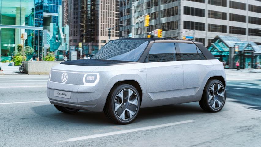 Der ID.Life soll in vier Jahren das elektrische Portfolio von VW nach unten abrunden und dann wohl ID.1 oder ID.2 heißen.