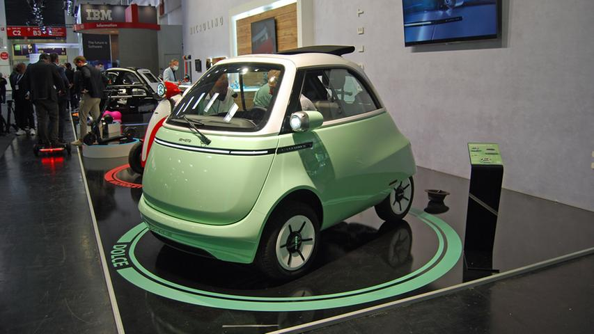 Spätestens im März 2022 soll endlich die Neu-Isetta Microlino vorfahren. Die Preise beginnen bei 12.500 Euro.