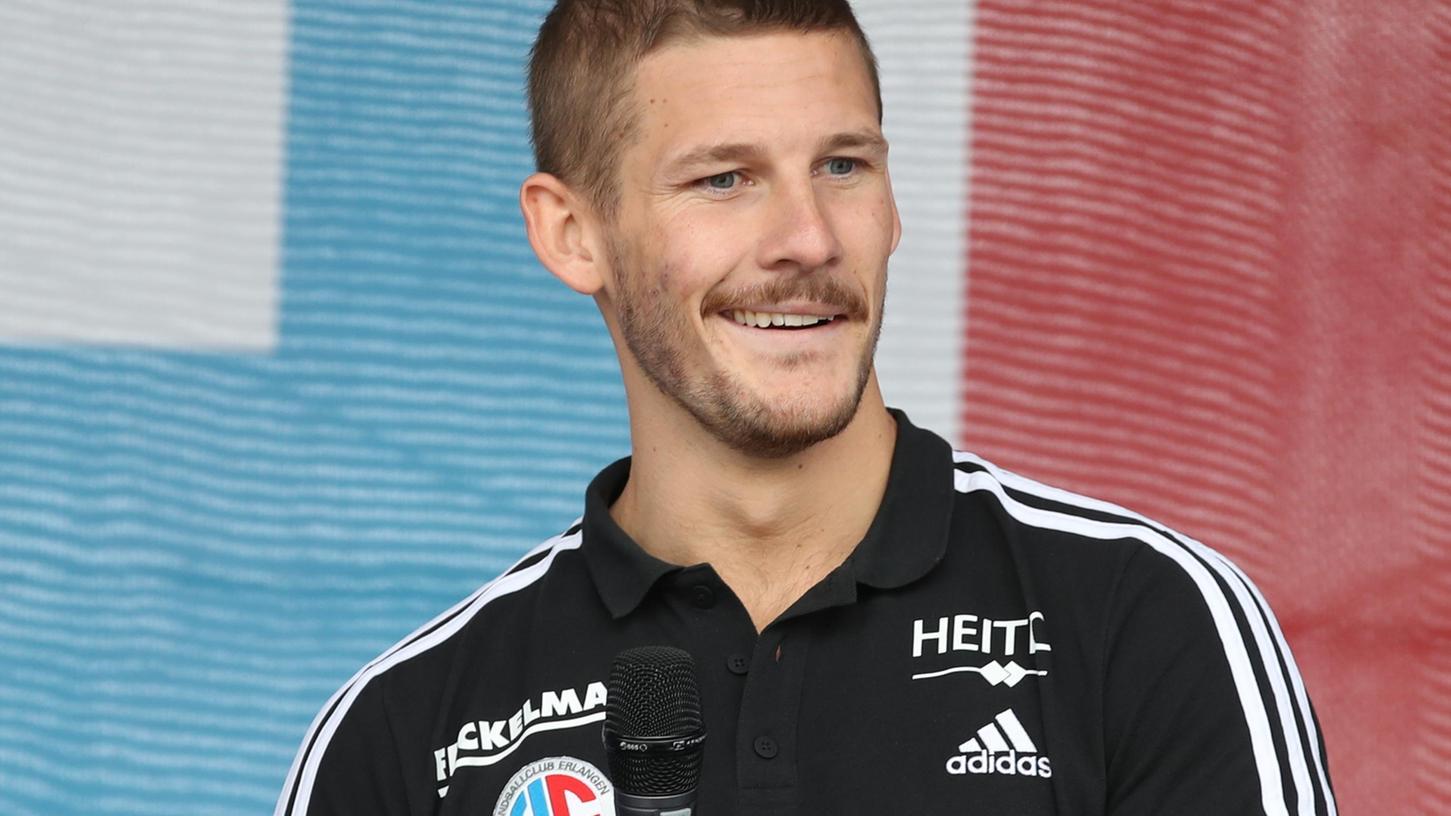 Auch Hampus Olsson will mit Erlangens Handballern besser werden