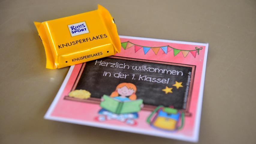 FOTO: Hans-Joachim Winckler  DATUM: 14.9.2021 MOTIV: Schule Erster Schultag an der Pestalozzischule Fürth