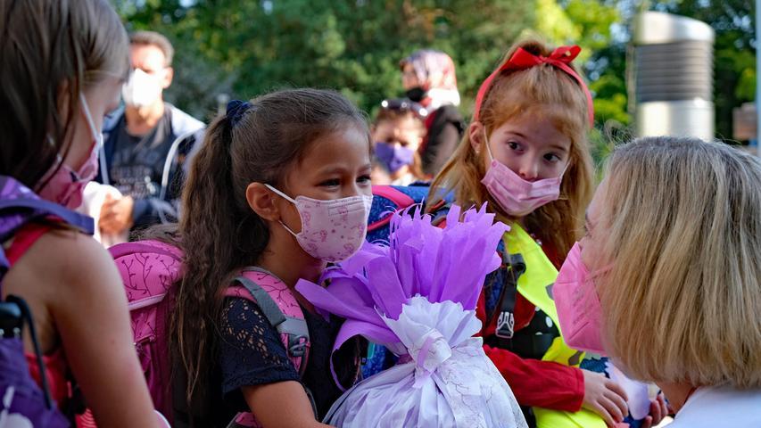 Schulstart in Nürnberg: Freude, aber auch