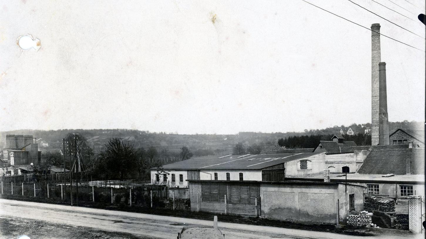 Das Firmengelände an der Bayreuther Straße.