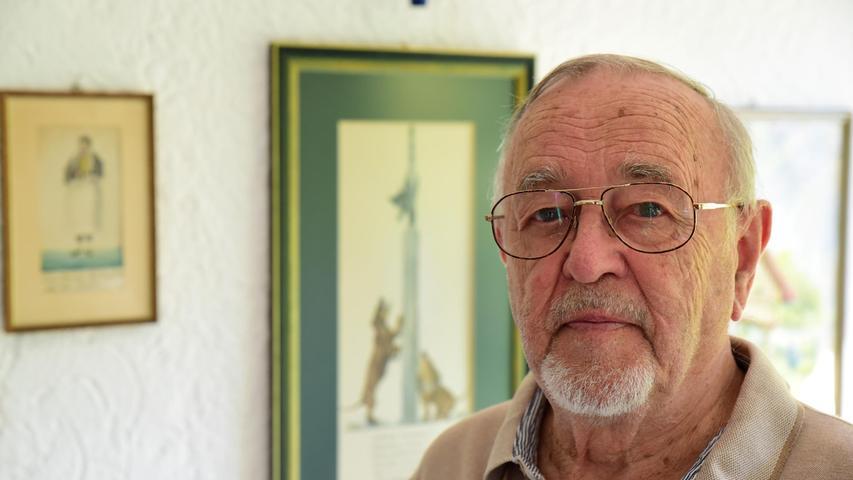 Dieter Haensch war einst Richter am Amtsgericht Forchheim und ist der Enkel des Firmengründers Rudolf Fritsche.
