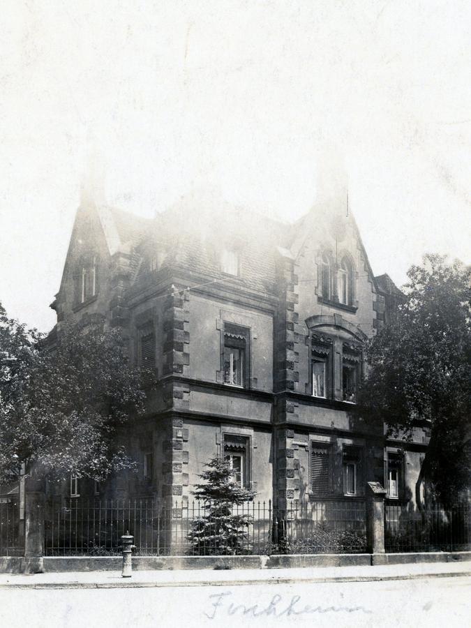 Das Wohnhaus der Familie Fritsche in der Bayreuther Straße in Forchheim.
