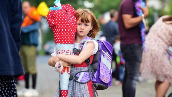 Schulanfang in Fürth: So also fühlt sich Schule an