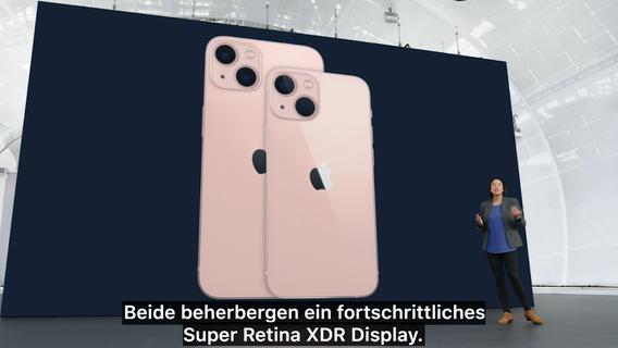 Apple präsentiert: So wird das neue iPhone 13