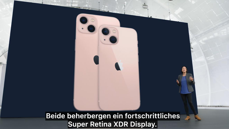 Modern und schnell: So sieht das neue iPhone 13 aus.