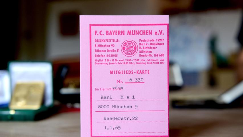 Von 1958 bis 1961 trug Mai das Trikot der Bayern und war in dieser Zeit, wie damals üblich, auch Mitglied beim FCB.