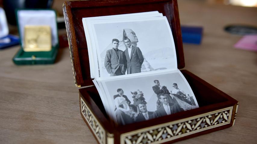 In einem Kästchen hat das Ehepaar Mai einst auch Fotos aus Ägypten gesammelt.