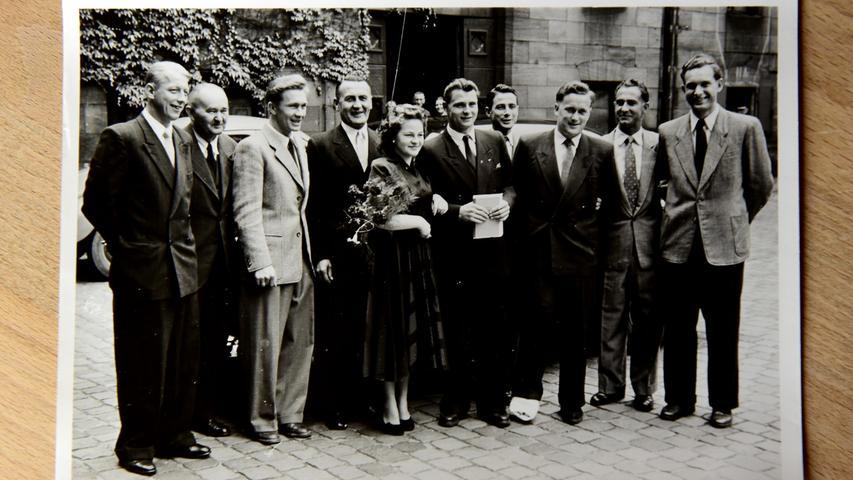 1955, ein Jahr nach dem Triumph in der Schweiz, heiratete Karl Mai seine geliebte Else.