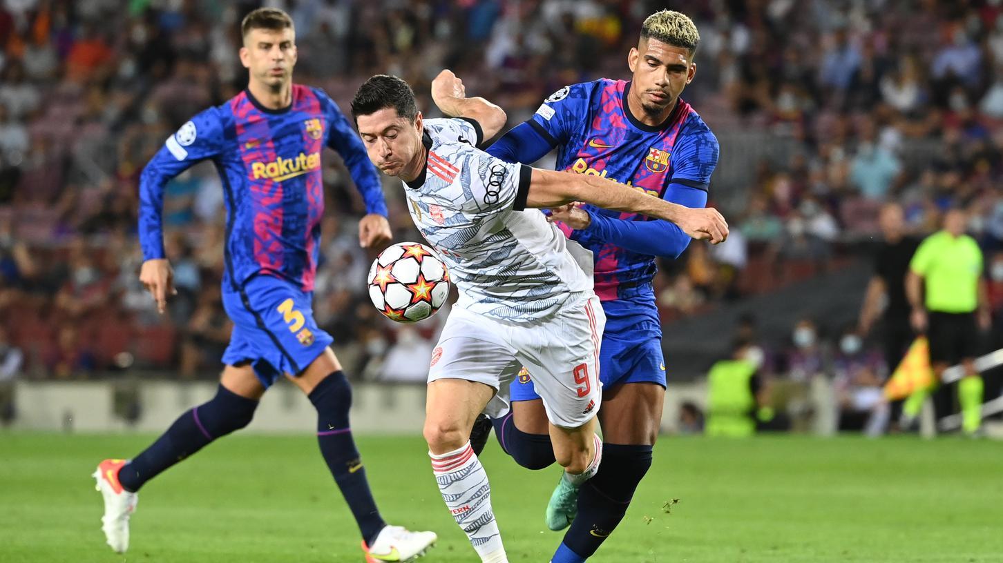 Spielerisch durchgesetzt: Robert Lewandowskis Bayern gaben dem FC Barcelona eindeutig das Nachsehen.