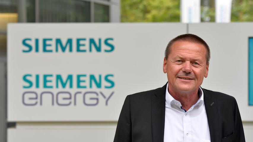 Manfred Bäreis, Betriebsratsvorsitzender von Siemens Energy am Standort Erlangen.
