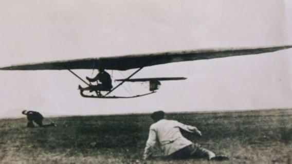 Vor 100 Jahren in der Rhön: Segelflug-Rekordflug von Friedrich Harth