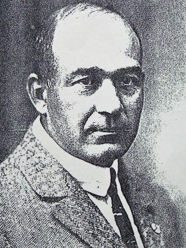 Flugpionier Friedrich Harth aus Zentbechhofen.