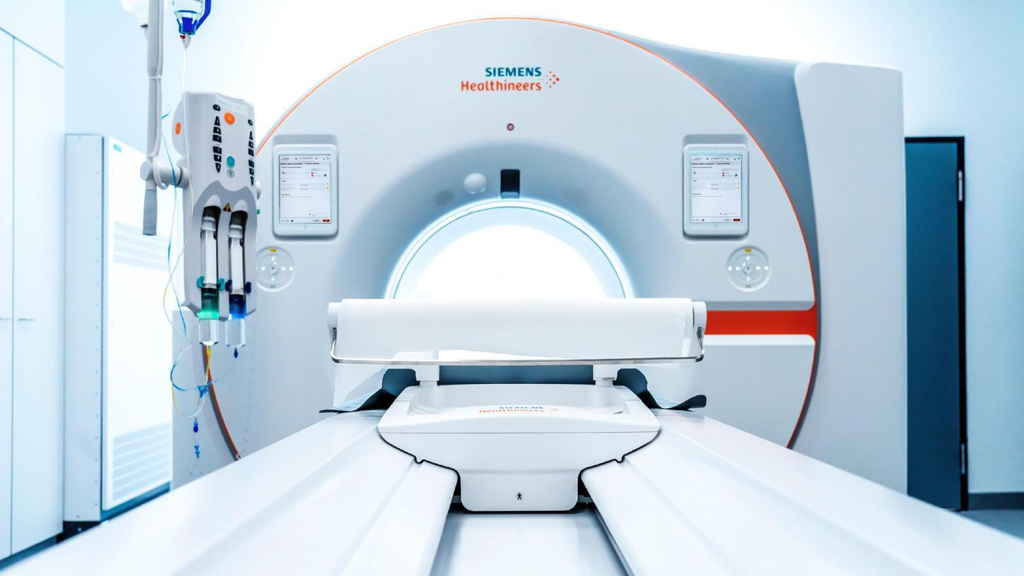 EinCT-Scanner der neuen Generation, entwickelt von der Siemens Healthineers AG.