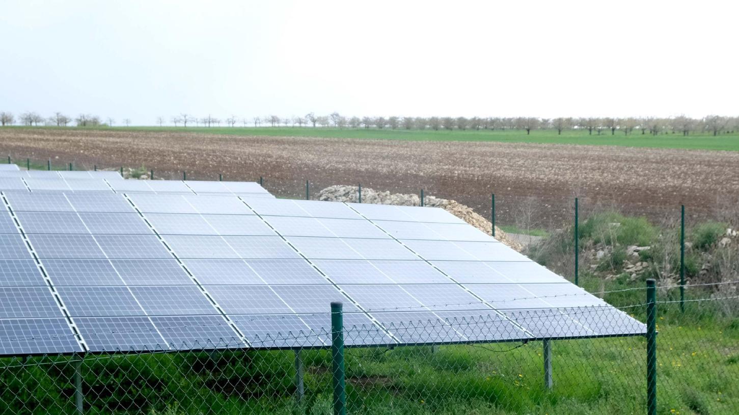In Walkersbrunn in der Fränkischen Schweiz gibt es bereits einen Solarpark.