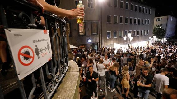 Sommer in Nürnberg: Polizei kämpfte gegen eskalierende Partys -