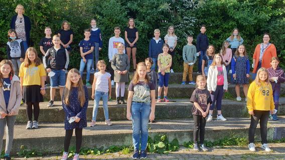 103 Mal erster Schultag für die 5. Klässler an der Realschule Gräfenberg