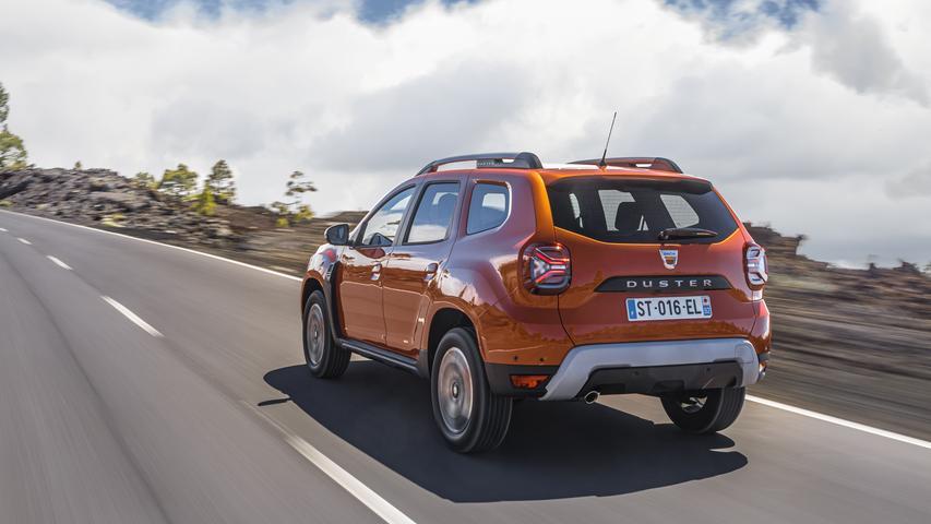 Benzin, Flüssiggas - was die Nahrungsaufnahme betrifft, ist der Dacia-Crossovervielseitig.