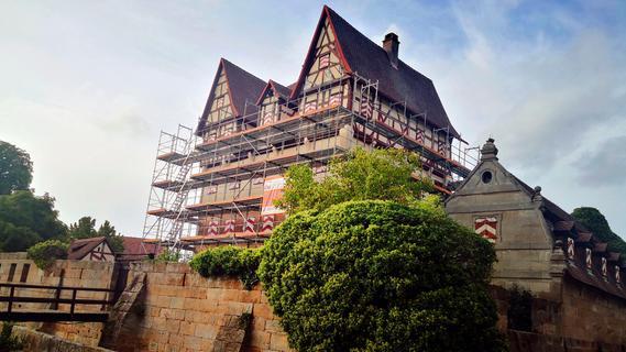 Für drei Millionen Euro: Neunhofer Schloss wird aufwändig saniert
