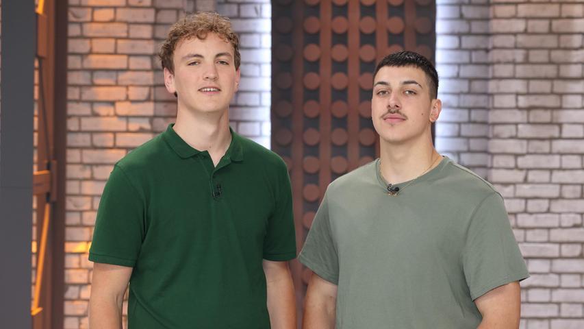 Die Erlanger Schüler Philipp (l.) und Oliver sinderneut in der RTL-Show Lego Masters zu sehen.