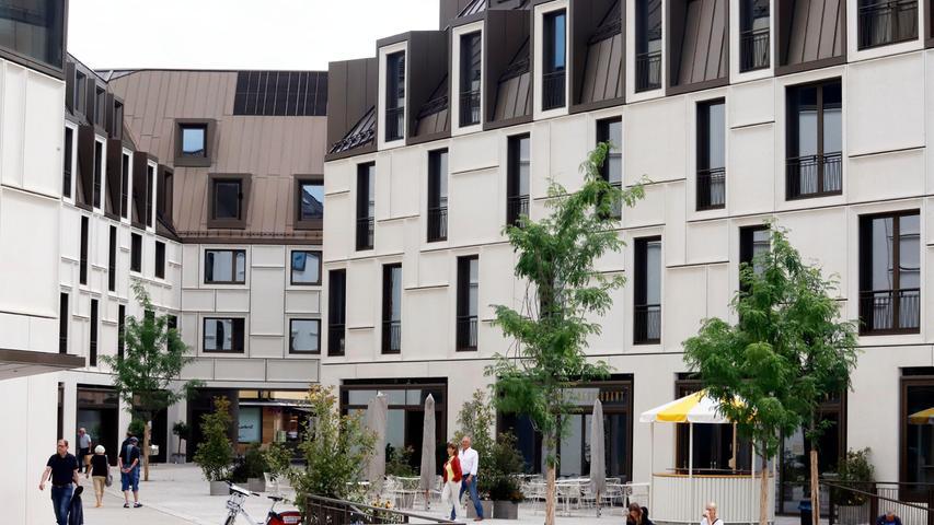 Steingewordene Biederkeit: Das Nürnberger Zukunftsmuseum ist in einer hypertrophen Kleinstadtbebauung untergebracht.