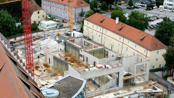 Am Residenzplatz wird gebaut: Angehende Öko-Manager starten wieder im Haus St. Marien