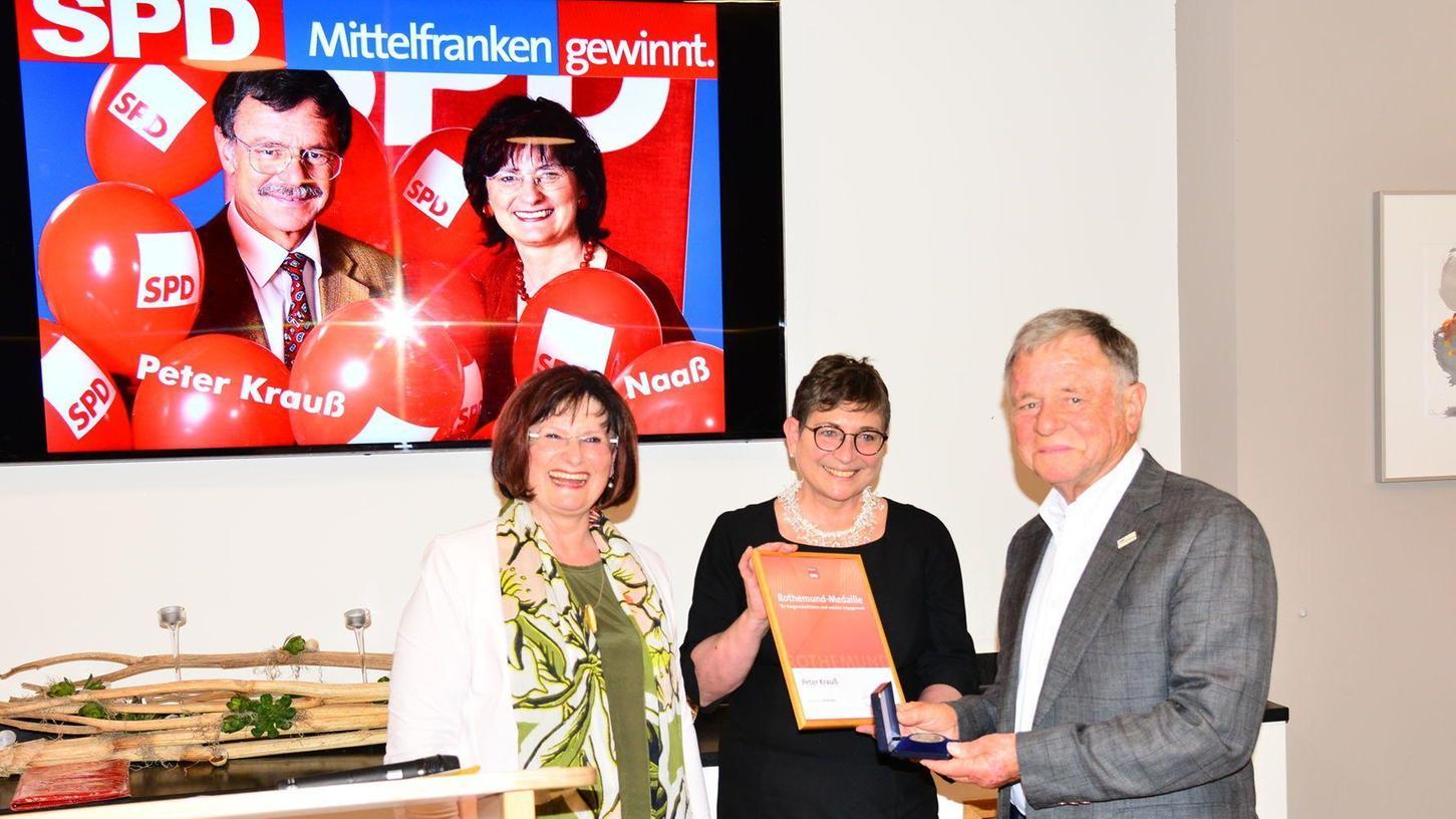 Hohe SPD-Ehrung für Peter Krauß