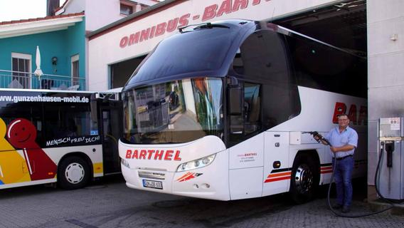 Der Stadtbus fährt jetzt sauberer