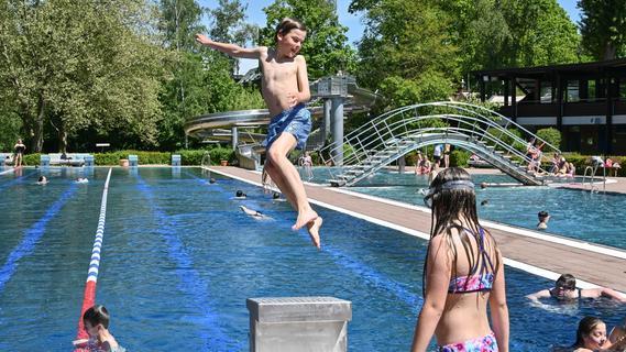 Freibadsaison: Gemischtes Jahr für Wasserratten im Landkreis Roth