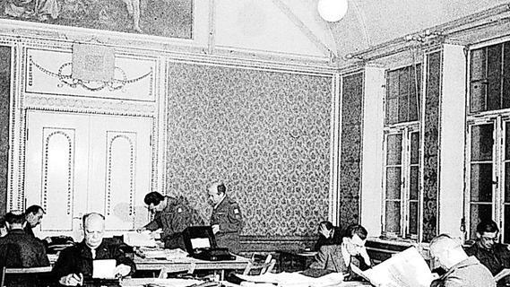 Nürnberger Prozesse vor 75 Jahren: Multimedial ins Press Camp
