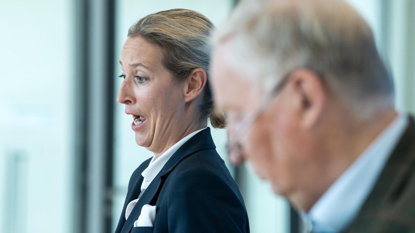 AfD-Spitzenkandidatin Alice Weidel hat die Drangsalierung der Kreml-Gegner vor der Parlamentswahl in Russland mit dem Umgang von Kritikern der Corona-Maßnahmen in Deutschland verglichen.