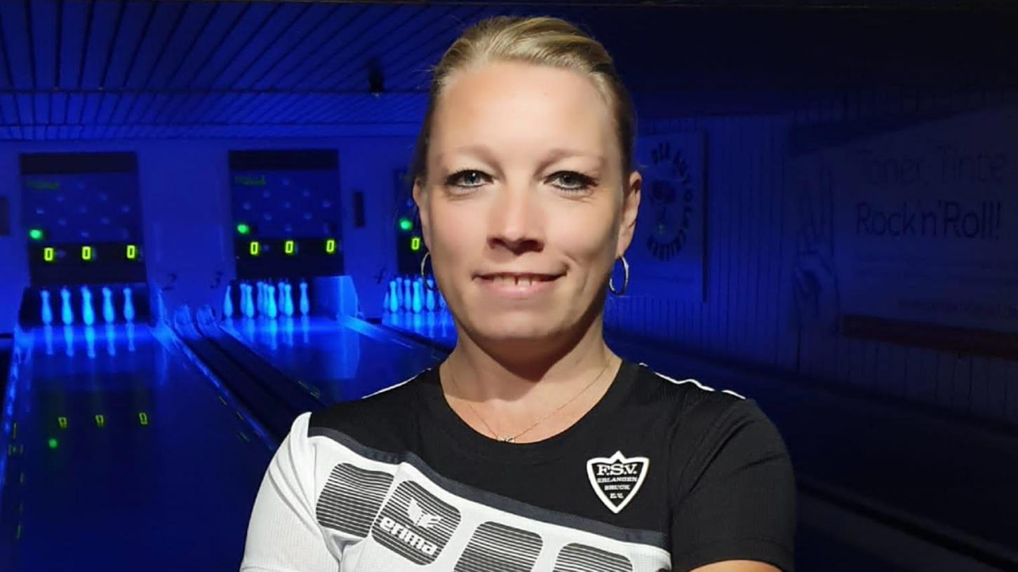 Hat in Fürth wirklich ein Heimspiel: Claudia Schnetz vom FSV Bruck.