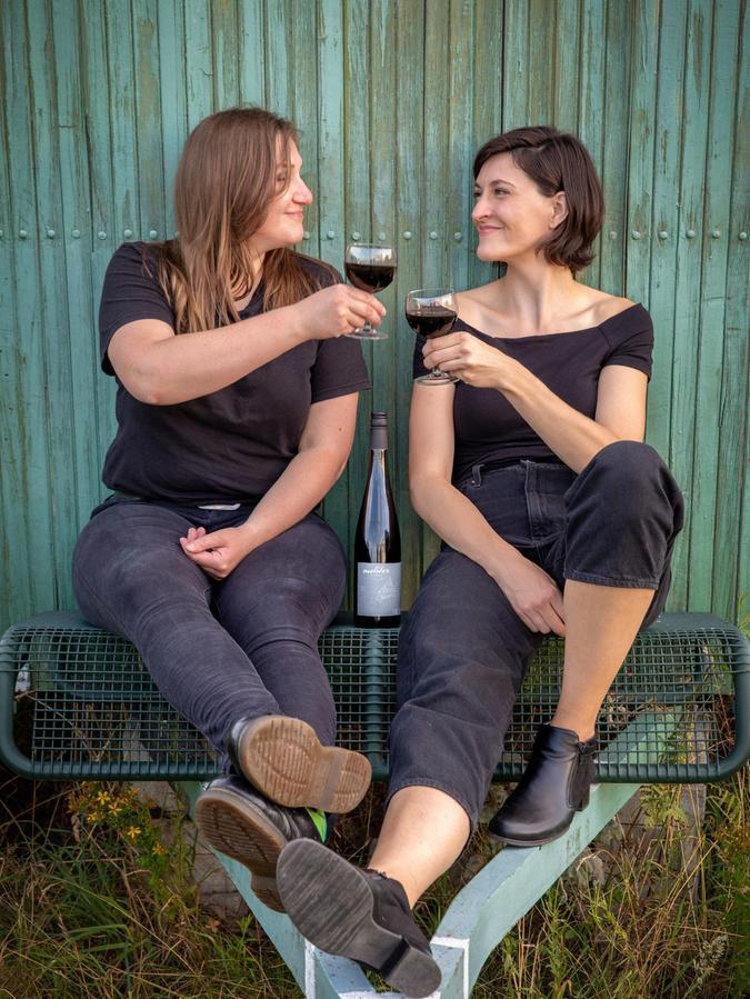 Karin Rabhansl (links) und Julia