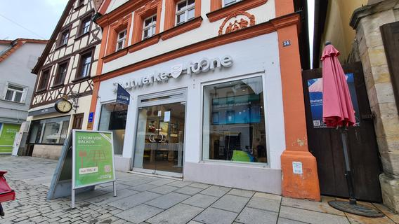 Kundencenter der Stadtwerke Forchheim in der Hauptstraße schließt