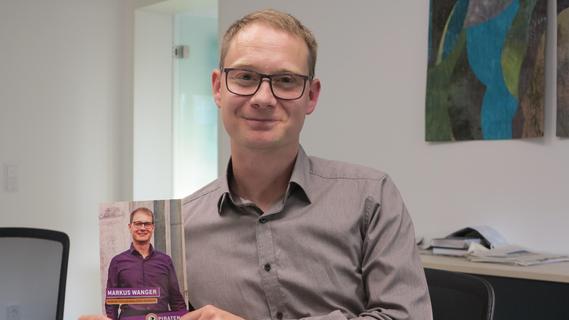 Markus Wanger will für die Piratenpartei das Direktmandat