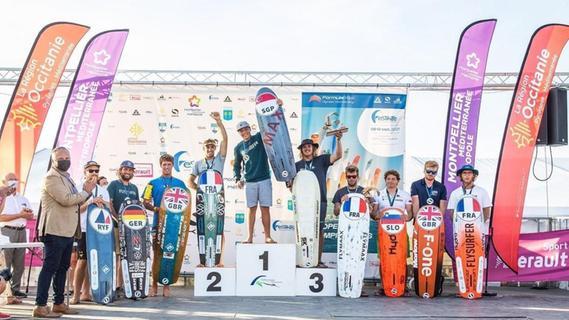 Top-Ergebnis! Fränkischer Kitesurfer überzeugt bei EM