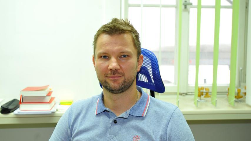 Daniel Knorr vom Forchheimer Wahlamt.