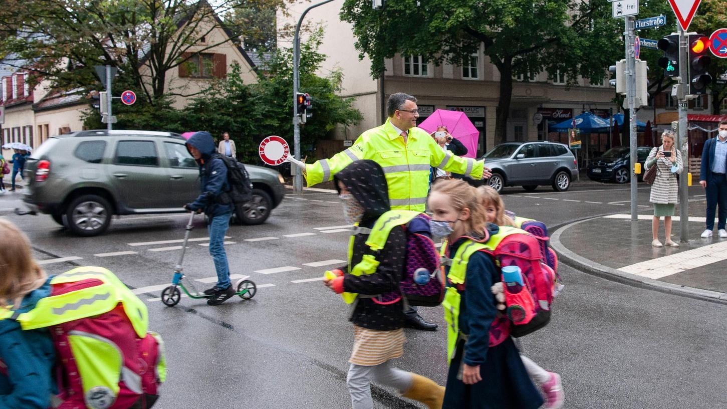 Ein sicherer Schulweg ist das Ziel nicht nur der Eltern, sondern auch der Polizei.