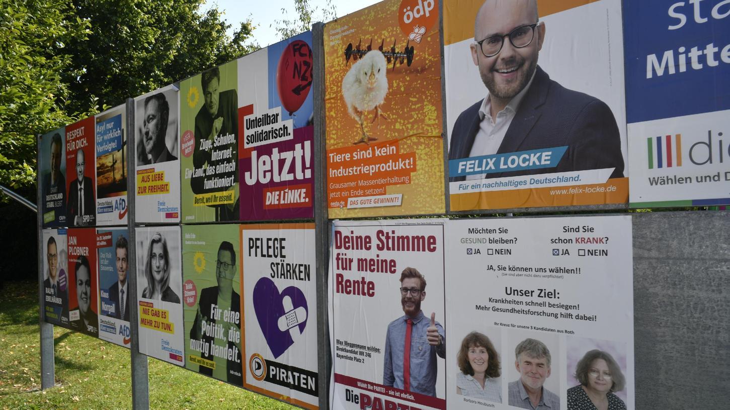 """Wer hat in einer Woche Grund zum Jubeln? """"Alles ist völlig offen"""", sagt Wahlforscher Marcel Neunhoeffer. """"Das wird die spannendste Wahl in der Geschichte der Bundesrepublik."""""""