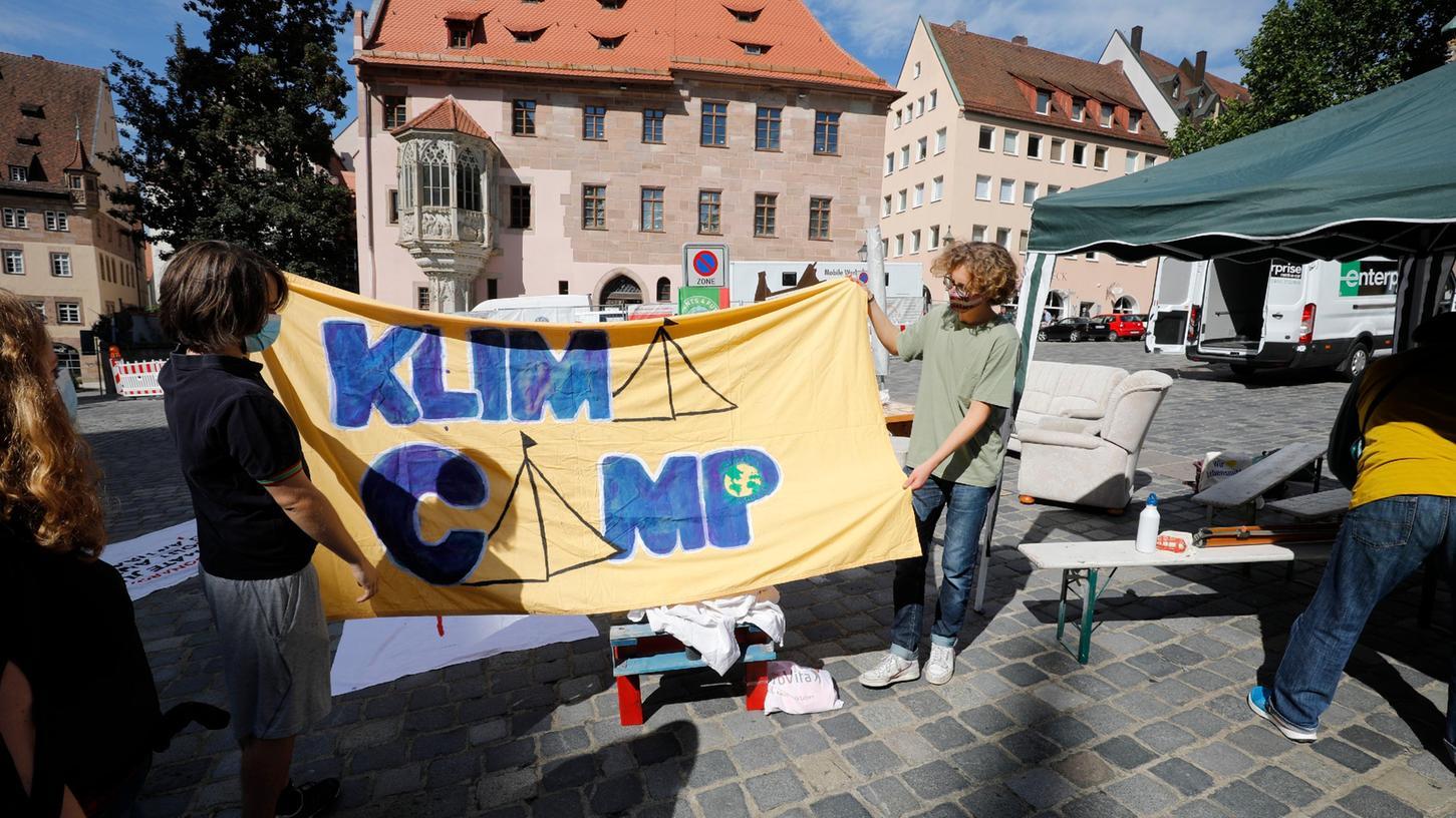 Der Streit um das Nürnberger Klimacamp geht in die nächste Runde.