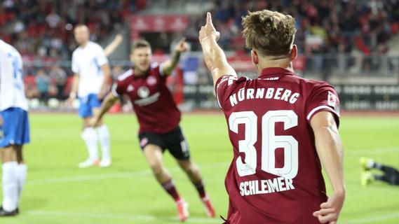 Schleimer, Shuranov - Platz zwei! Der FCN rockt's auch gegen Rostock