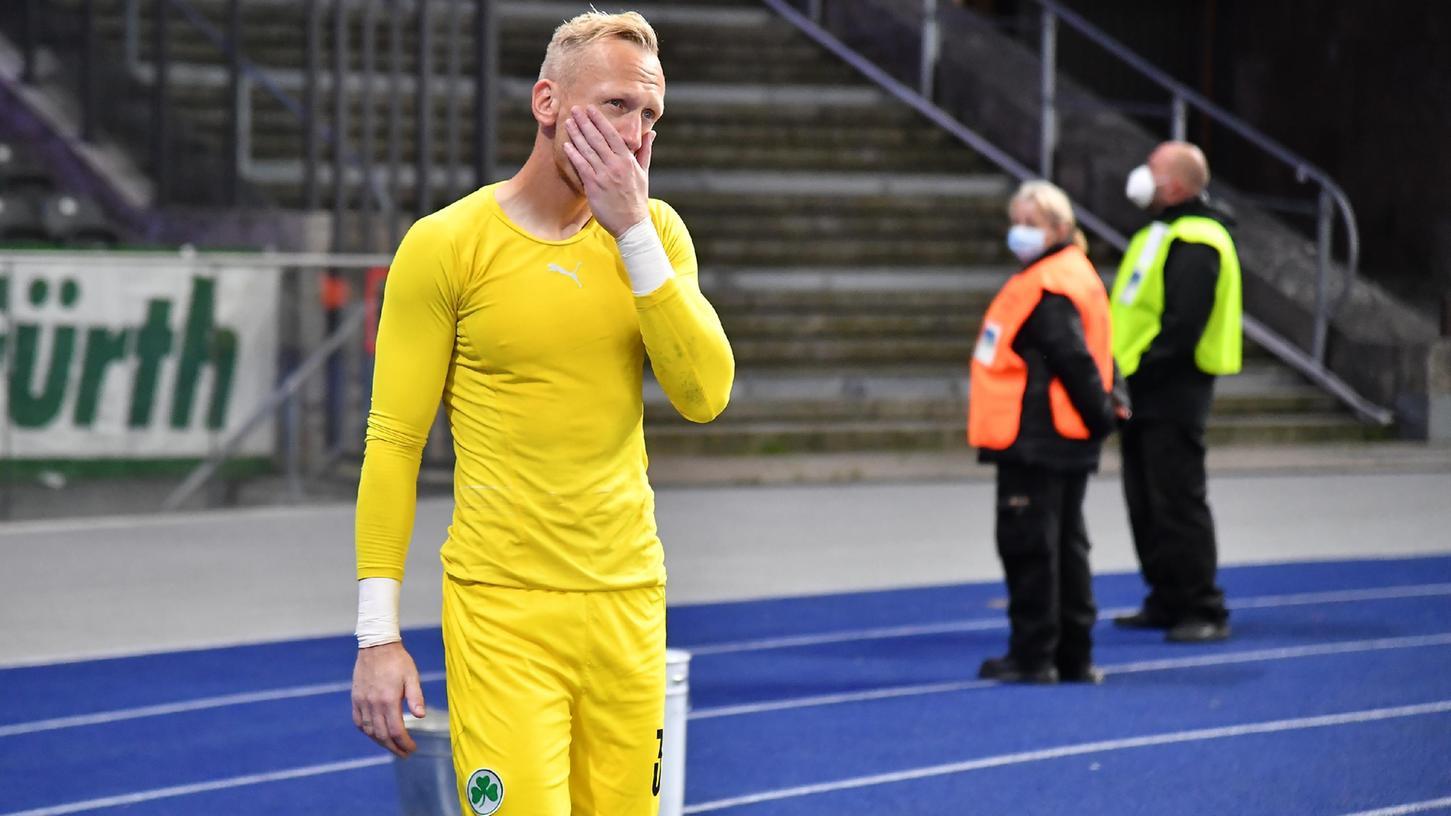 Leere Hände im Olympiastadion: Sascha Burchert bleibt trotzdem positiv.