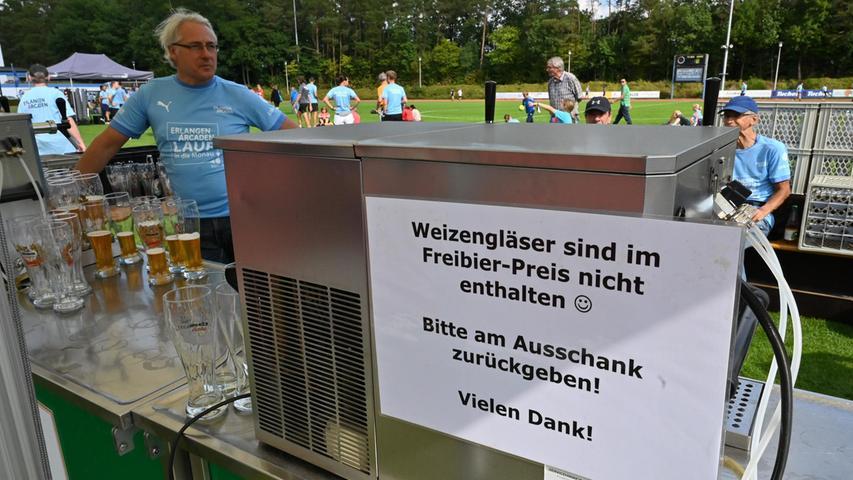TV 1848 Erlangen, 34. Erlanger Arcadenlauf in die Mönau. Hier zehn Kilometer Hauptlauf Foto: Klaus-Dieter Schreiter
