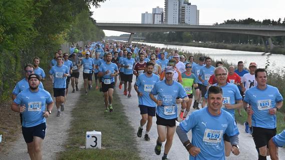 Endlich wieder gemeinsam joggen: 34. Erlanger Arcadenlauf in die Mönau