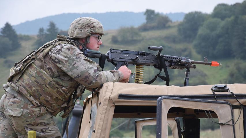 Saber Junction 21: Tausende Soldaten üben in Hohenfels den Ernstfall